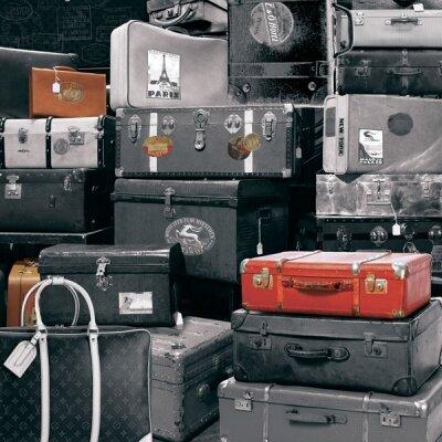 Дизайнерские фотообои чемоданы,сумки