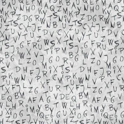 Дизайнерские фотообои буквы