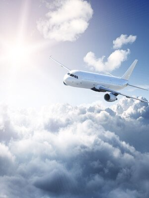 Фотообои Полёт самолета