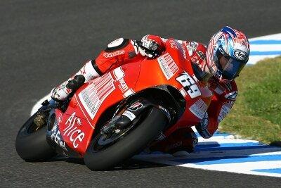 Фотообои Мотоциклист на гонке