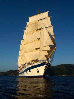 Фотообои Корабль с парусами
