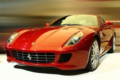 Фотообои Красное Ferrari