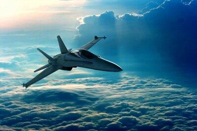 Фотообои Истребитель в небе