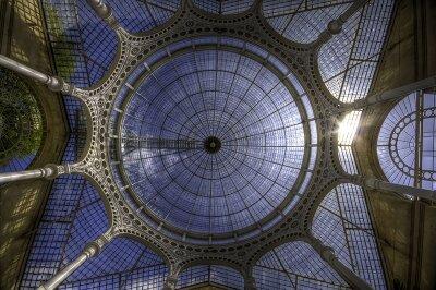 Фотообои на потолок Стеклянный купол