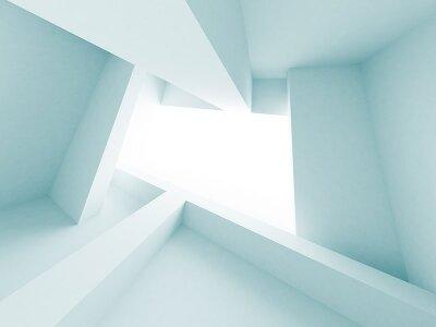 Фотообои на потолок 3d пространство