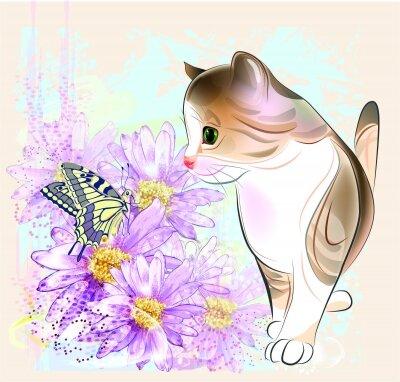 Фотообои Котёнок