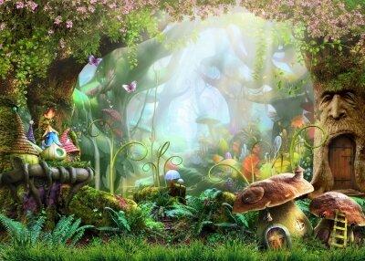 Фотообои В сказочном лесу