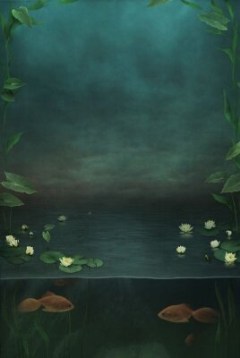 фотообои Рыбки в озере