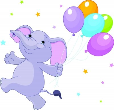 фотообои Веселый слон