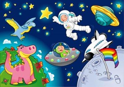 фотообои в космосе