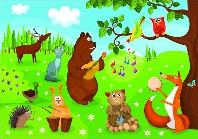 фотообои Лесной ансамбль