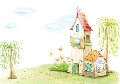 фотобои Сказочный дом