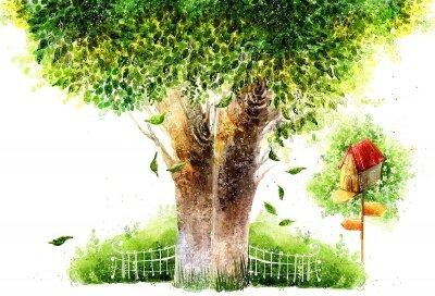 фотообои Сказочное дерево