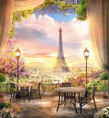 фотообои Терраса в Париже