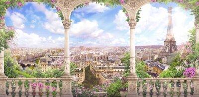 фотообои Париж весной