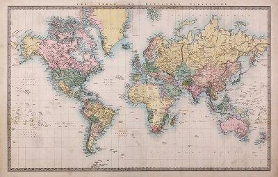 Современная карта мира