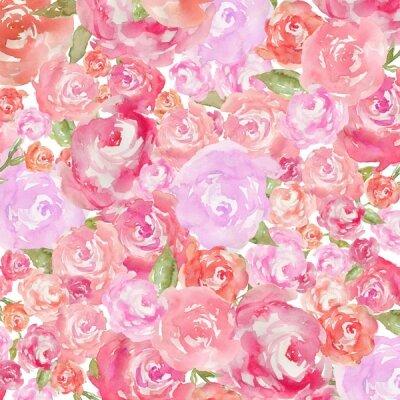 Фотообои розовые и красные розы