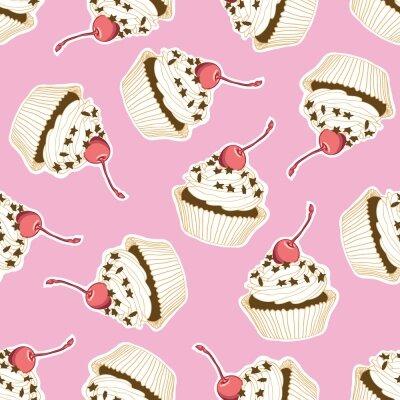 Фотообои пирожные