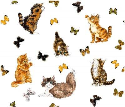 Фотообои котенок