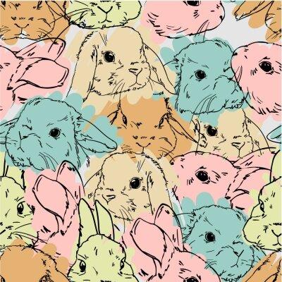Фотообои кролики