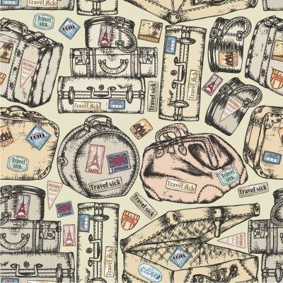Фотообои чемоданы