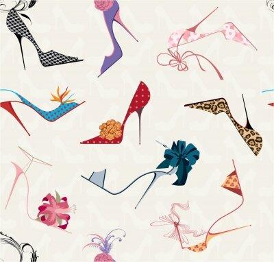 Фотообои туфли