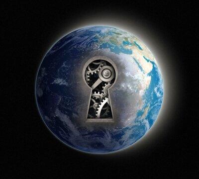 Креативные фотообои Планета