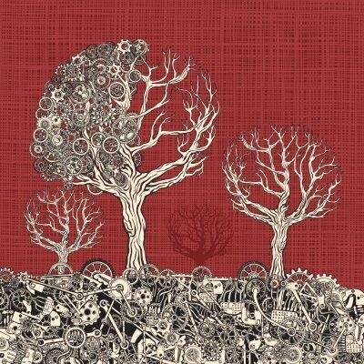 Креативные фотообои Деревья