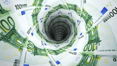 Креативные фотообои Деньги