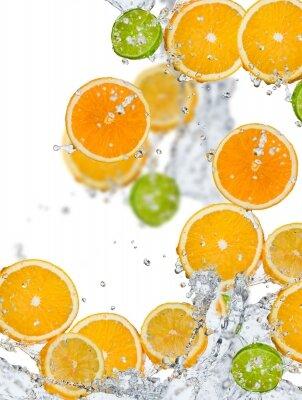 Фотообои Дольки апельсина