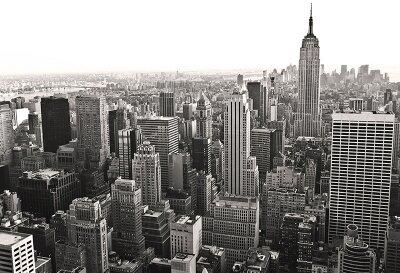 Черно-белые фотообои Совеременный Нью-Йорк
