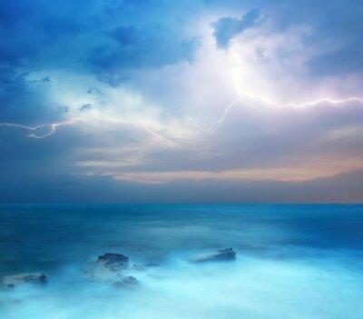 Фотообои с природой начало шторма в океане