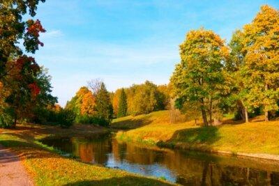 Фотообои с природой погожий осенний день