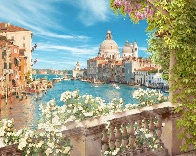 Фотообои Балкон в Венеции