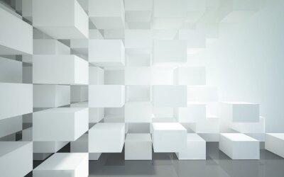 Фотообои обьемные кубы