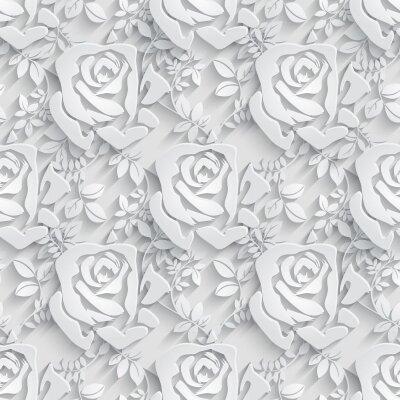 Фотообои Абстрактные 3д розы