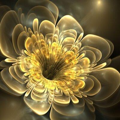 Фотообои цветок 3д