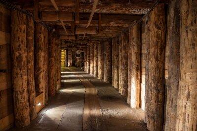 Фотообои яркий тоннель