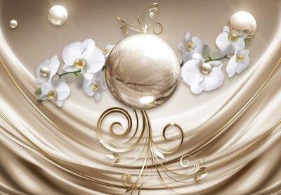 Фотообои Золотой шар