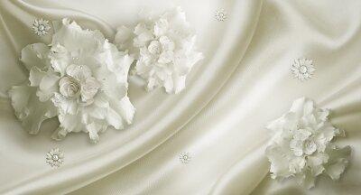 Фотообои Свадебные цветы