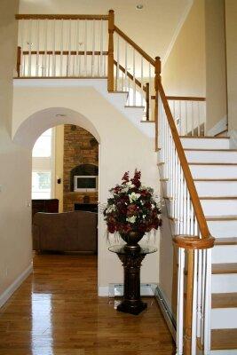 Интерьеры лестница