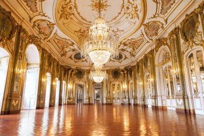 Интерьеры дворец холл