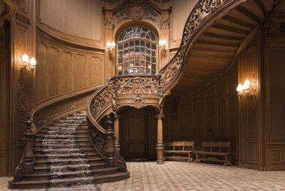 Интерьеры лестница наверх