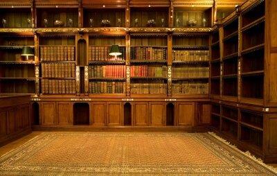 Интерьеры библиотека