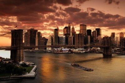 Фотообои Вечерний Нью-Йорк