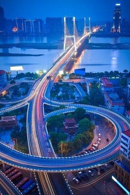 Фотообои Ночной мост