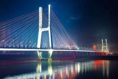 Фотообои Огни ночного моста