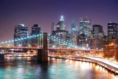 Фотообои ночной Бруклин