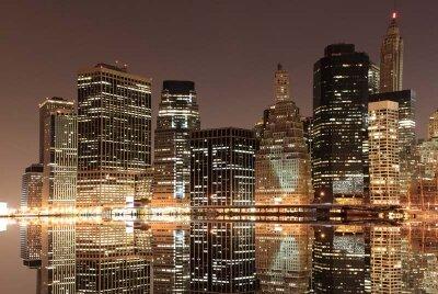 Фотообои небоскребы в мегаполисе